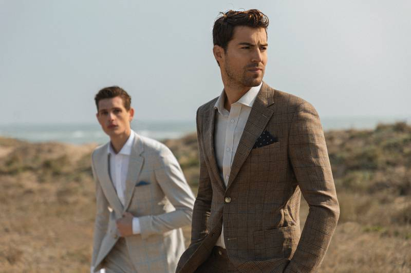 linen suits - perfect summer suits