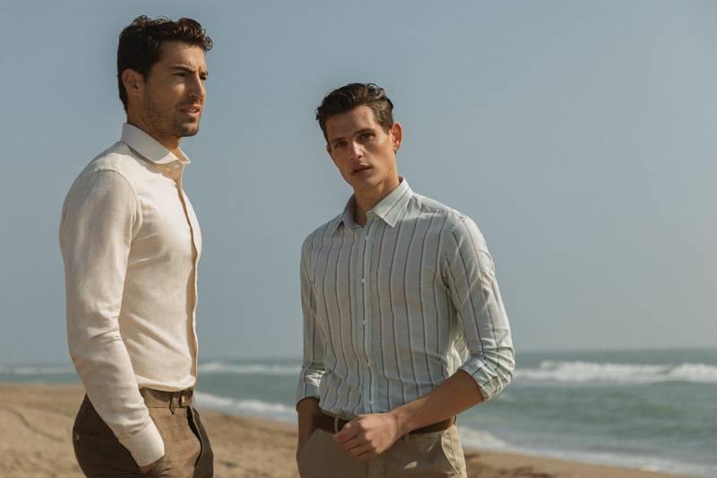linen shirts men
